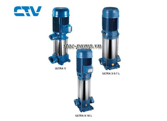 CTV-Đại lý cung cấp máy bơm trục đứng Italy chính hãng tại Hà Nội