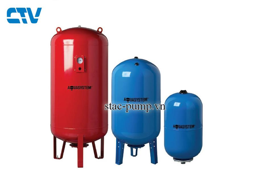 Bình tích áp lực Aquasystem VAV 1000 Lít