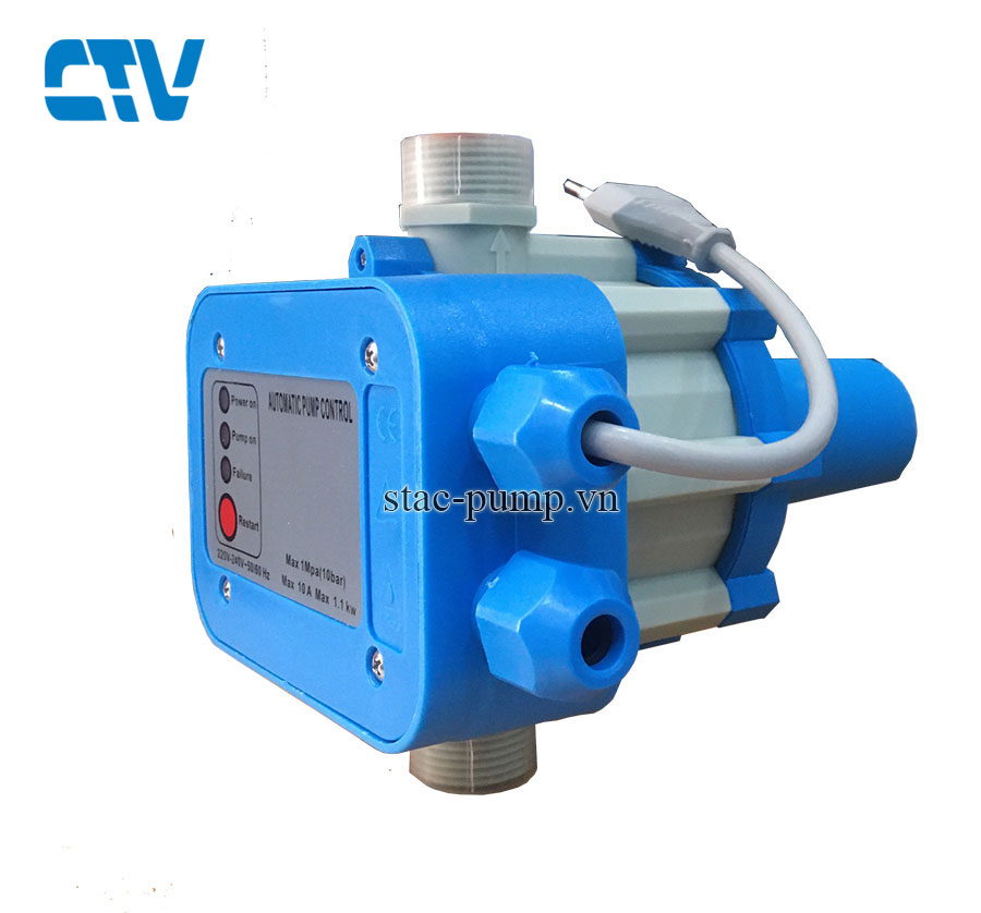 Rơ le điện tự động tăng áp CTV-DSK 01 (bộ chống cạn)