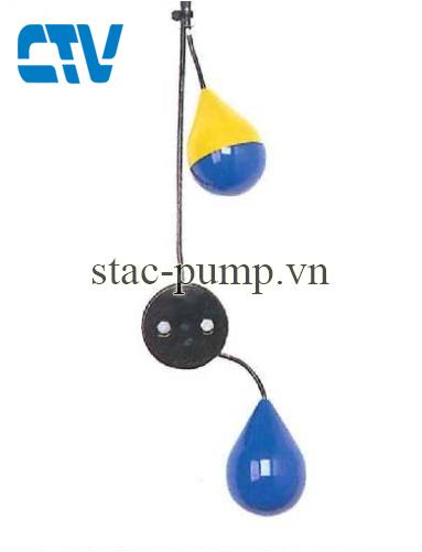 Phao điện tự động cho máy bơm nước Shinmaywa MS