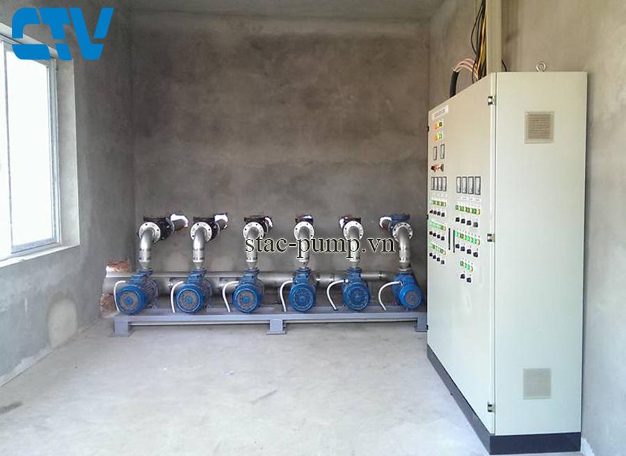 Thiết kế, lắp đặt tủ điện cho hệ thống máy bơm cấp nước sinh hoạt